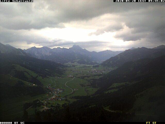 Schattwald/Wannenjoch (Bergstation)
